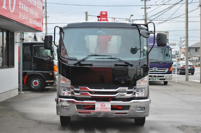 【323】いすゞフォワード セミワイド クレーン付平ボデー カスタム多数