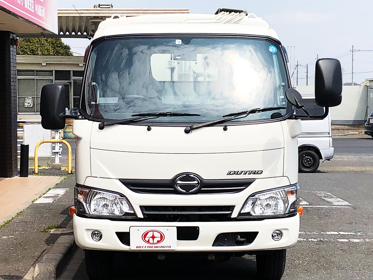 【390】日野 デュトロ 極東プレスパッカー 4.6立米