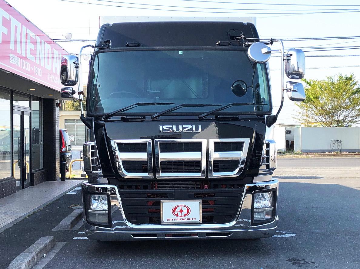 【394】いすゞ ギガ ハイルーフ 平ボデー エアサス