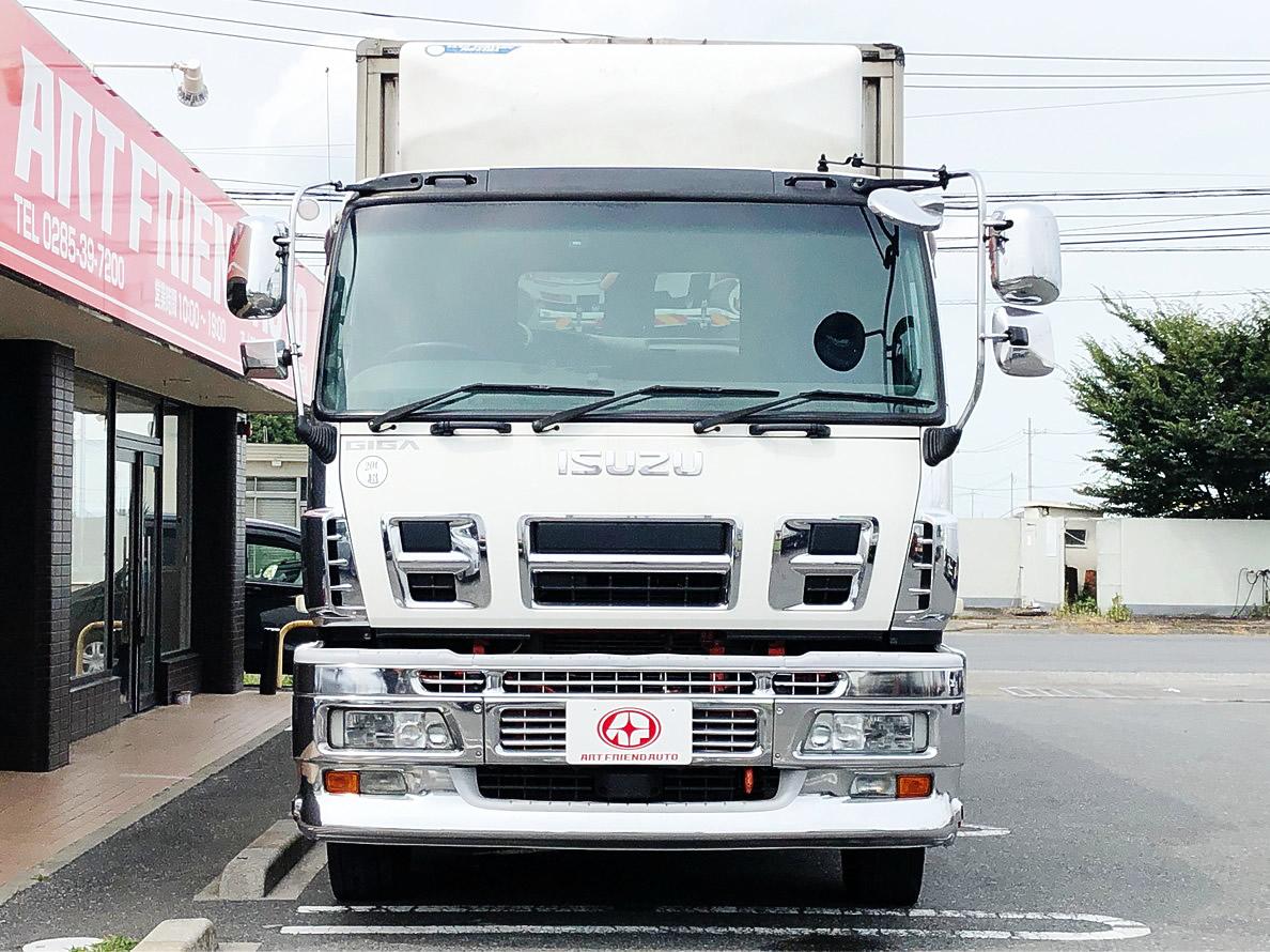 【478】いすゞ ギガ エアサス 冷凍ウィング ジョロ4 キーストン