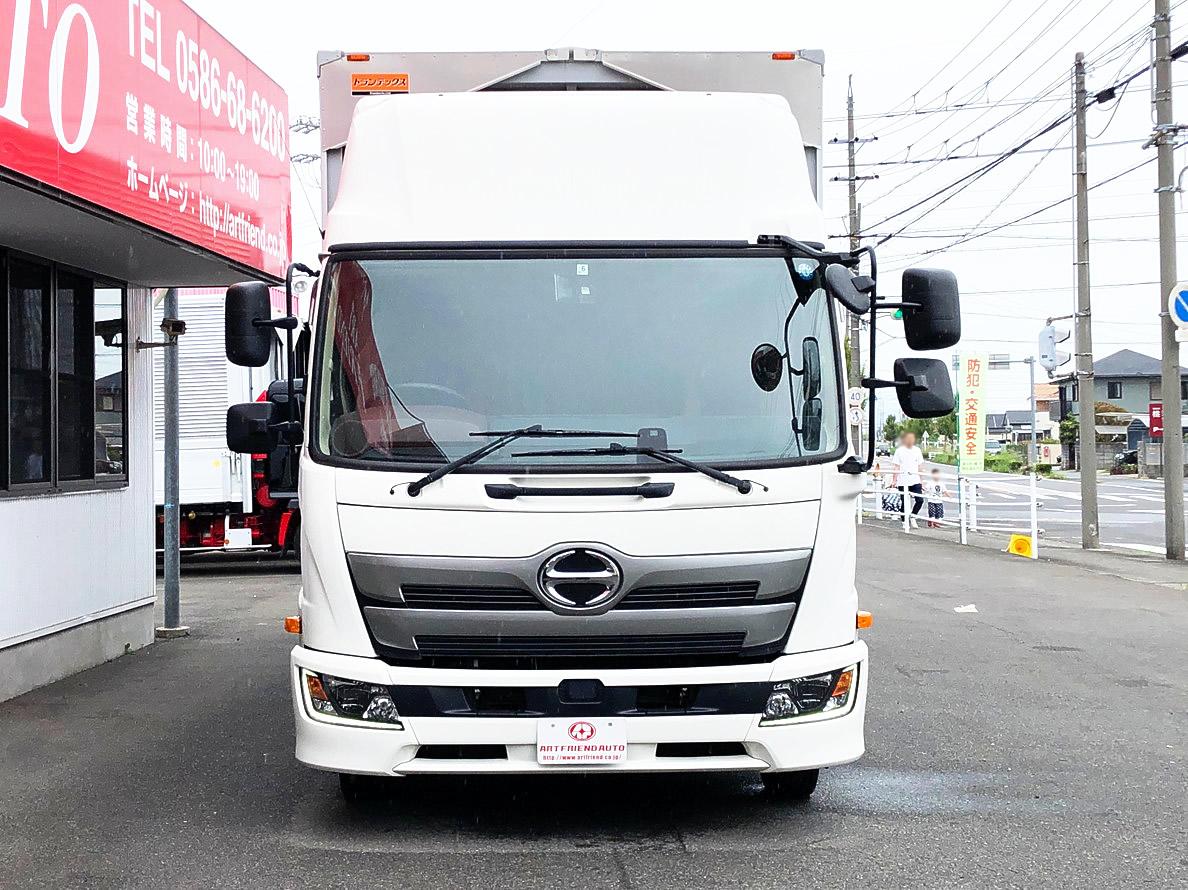 【495】日野 レンジャープロ ハイルーフ ウィング 格納ゲート車