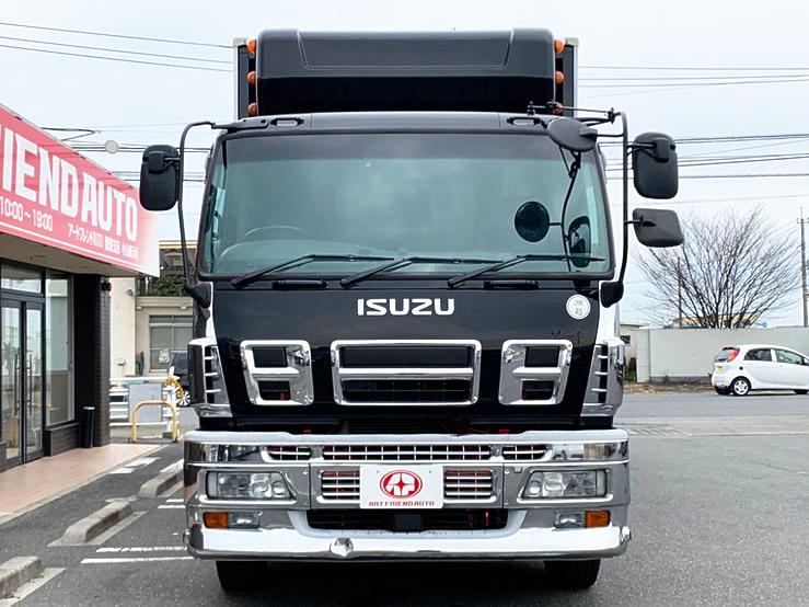 ★【551】いすゞ ギガ 冷凍ウィング サブエンジン ジョロダー4列 キーストン