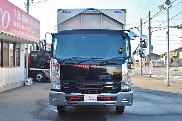 【181】いすゞフォワード ワイド アルミウイング 6200ボデー フルゲート