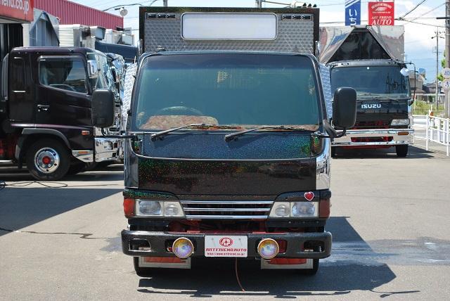 【224】いすゞ エルフ 平ボデー カスタム多数 造りボデー