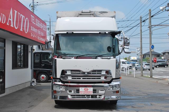 【243】UDトラックス クオン 低床 アルミウイング ハイルーフ 総輪エアサス