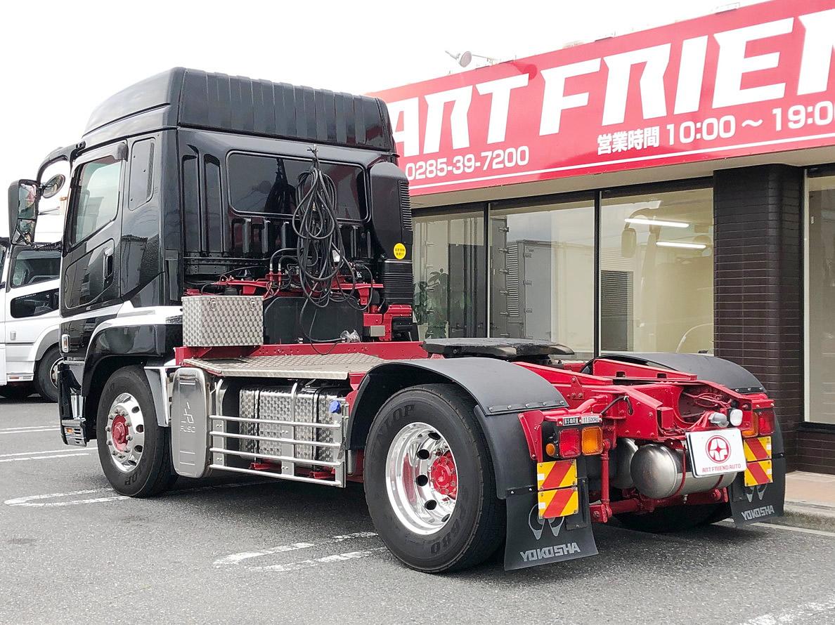 【426】ふそう スーパーグレート トラクタヘッド ハイルーフ 7速