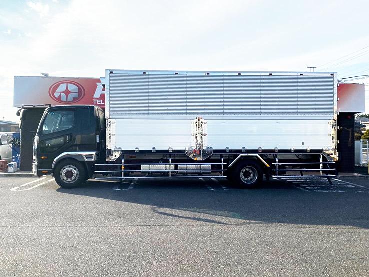 ★【532】ふそう ファイター 増トン 冷凍ウィング エアサス 造りボディ