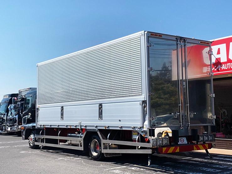 【580】日野 レンプロ 6200ワイド 冷凍ウィング キーストン床
