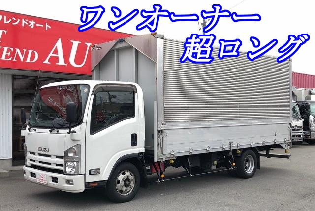 【318】いすゞ エルフ アルミウイング 超ロング ワンオーナー
