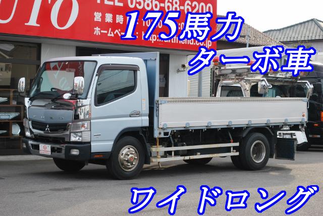 【353】三菱ふそう ブルーテックキャンター ワイドロング 平ボデー