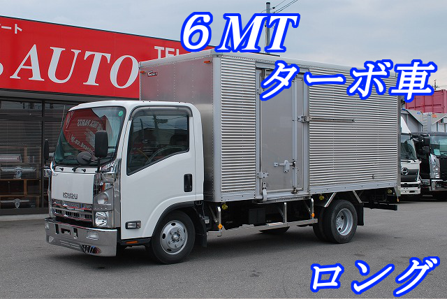 【434】いすゞ エルフ アルミバン 標準ロング
