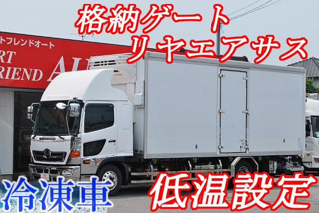 【435】日野レンジャー 冷凍バン 格納ゲート リヤエアサス
