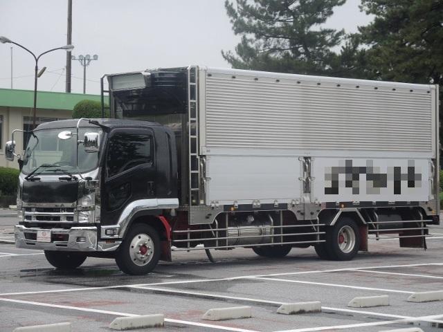 H23 いすゞ 07フォワード 冷凍ウィング セミワイド 造りボデー