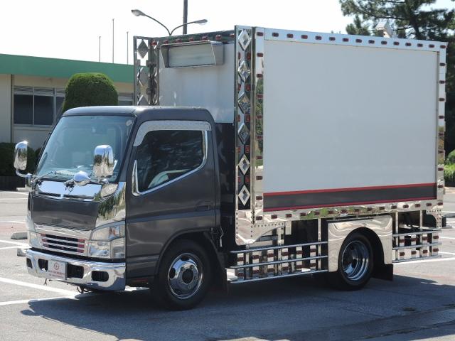 H22 三菱 ジェネレーションキャンター アートトラックバン