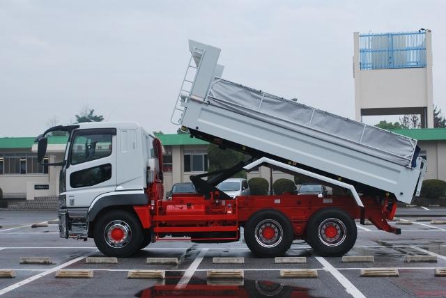 H28 三菱ふそう スーパーグレート ダンプ 未使用車