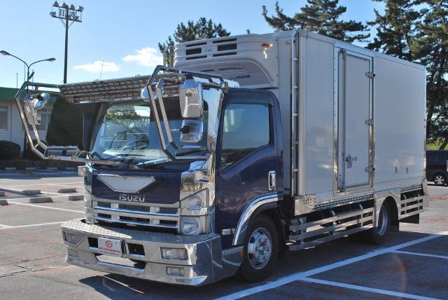 H20 いすゞ エルフ ワイドロング 冷蔵冷凍車