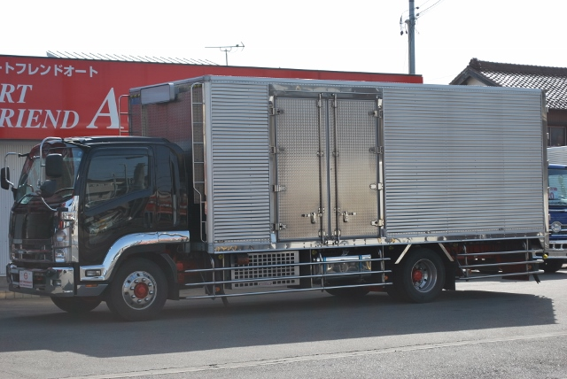 H21 07フォワード 増トン 冷蔵冷凍車 トランテックス6200造りボデー