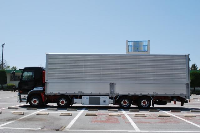 H28 UDトラックス クオン 4軸冷凍ウィング  リアエアサス