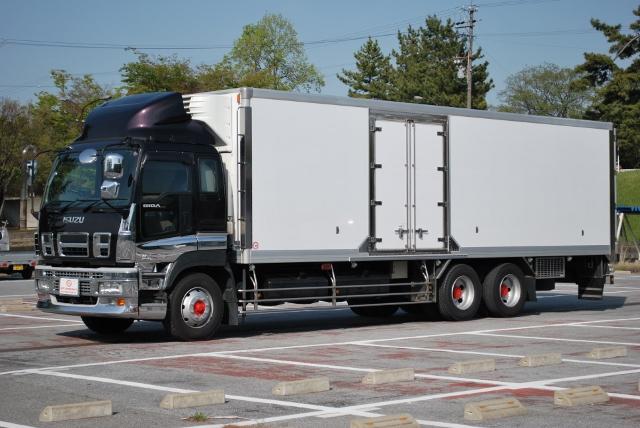 H20 いすゞ ギガ 高床 冷蔵冷凍車 リアエアサス