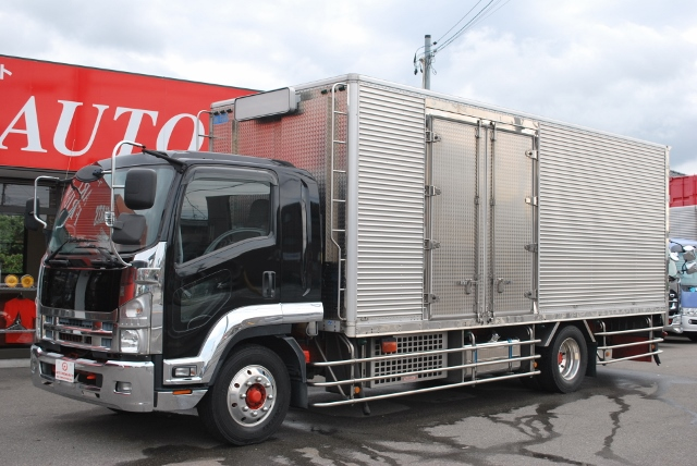 H21 いすゞ フォワード 冷凍バン 増トン車 リアエアサス