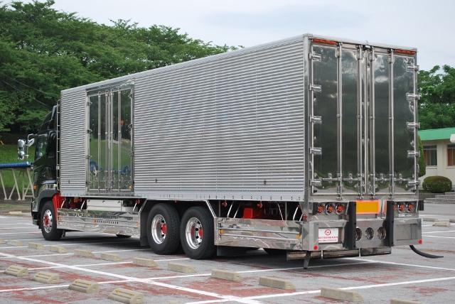 H27 グランドプロフィア 高床 冷凍アルミバン 総輪エアサス ハイルーフ