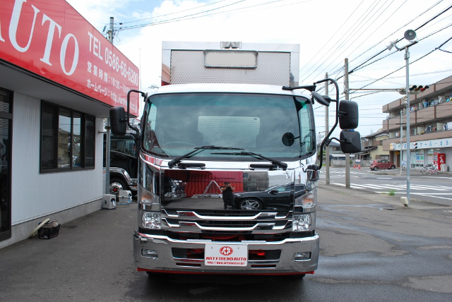 【137】いすゞフォワード 冷凍ウイング 増トン 造りボデー