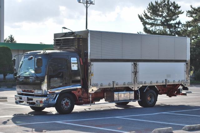 H18 いすゞ フォワード 冷蔵冷凍車 パワーゲート アルミウイング
