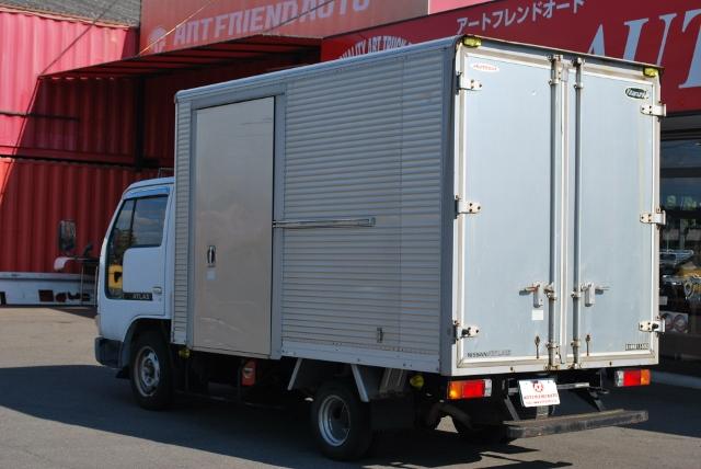 【147】日産アトラス アルミバン ガソリンAT車 委託販売