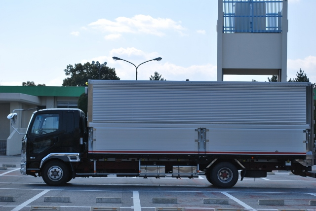H22 三菱 ファイター ワイドアルミウィング 造りボデー