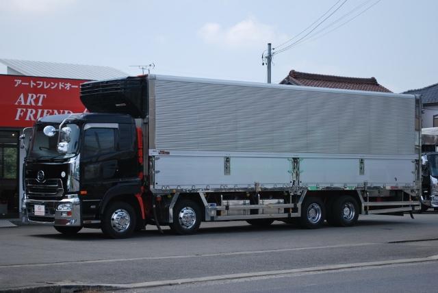 H23 UDトラックス クオン 低床 冷凍ウイング