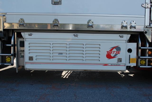 H22 UD クオン 4軸低床 冷凍ウィング 総輪エアサス ジョルダー4列 キーストン
