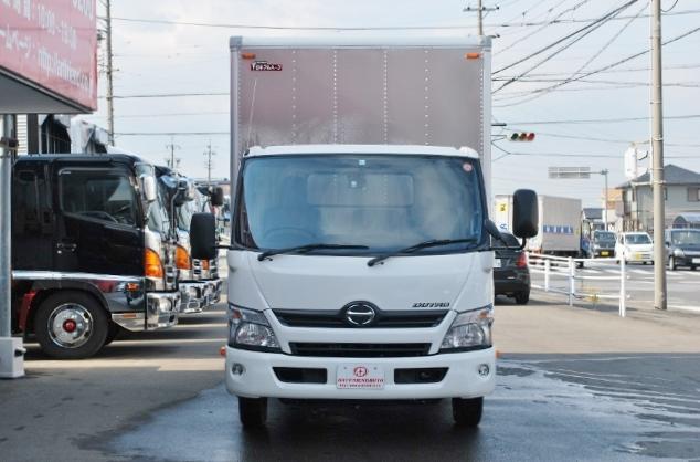 【185】日野 デュトロ アルミバン フルゲート 新古車