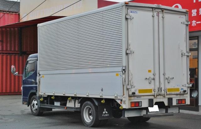 【336】三菱キャンター アルミウイング 13尺ロングボデー