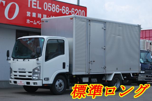 H23 いすゞ エルフ アルミバン 標準ロング