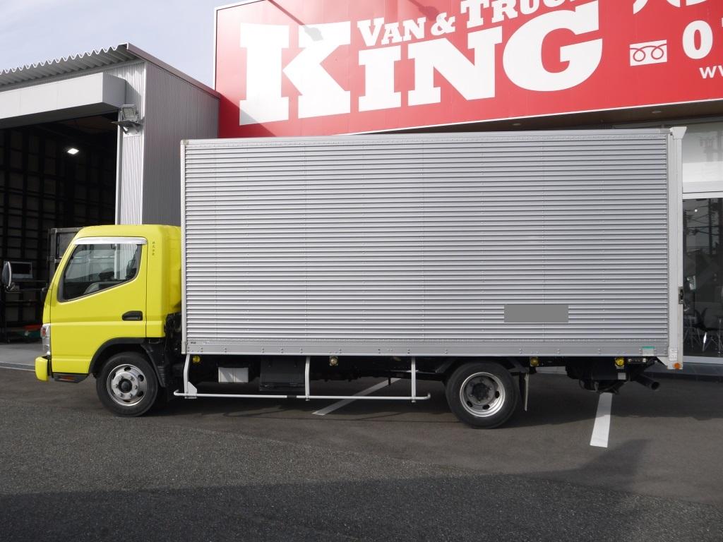 【vk-652】H22 キャンター アルミバン ワイド超ロング ゲート