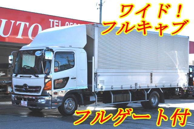 【170】日野レンジャー ワイド アルミウイング フルゲート