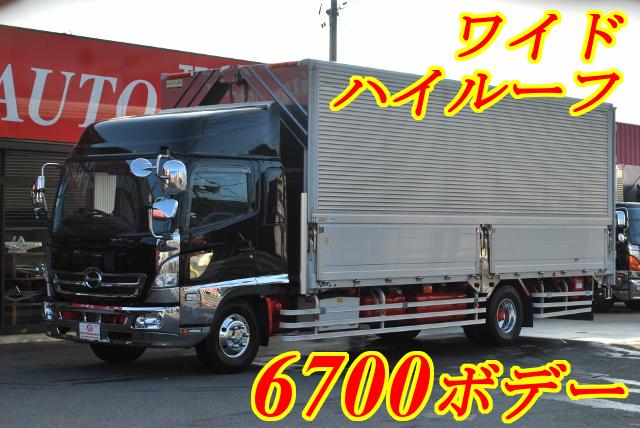 【139】日野レンジャー ワイド アルミウイング 6700ボデー