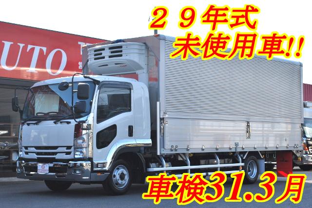 【191】いすゞフォワード ワイド 冷凍ウイング 未使用車
