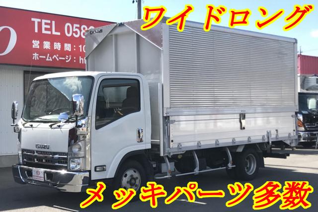【198】いすゞエルフ アルミウイング ワイドロング