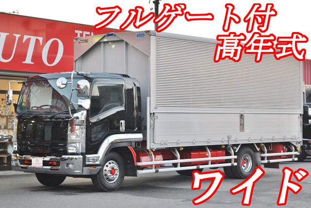 【181】いすゞフォワード ワイド アルミウイング フルゲート