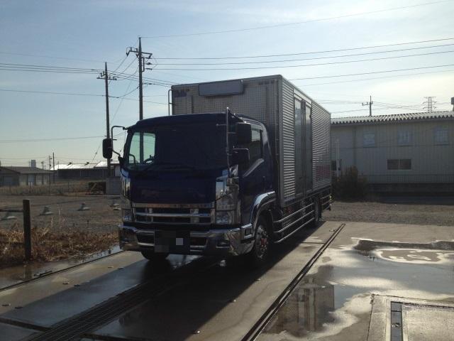 H21 07フォワード 増トン 冷蔵冷凍車