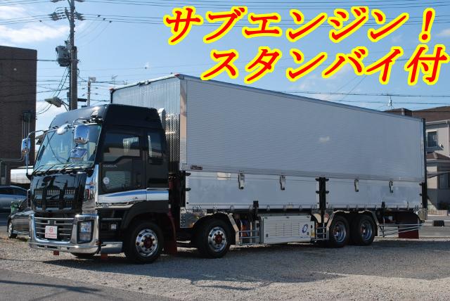【143】いすゞギガ 4軸低床 冷凍ウイング ハイルーフ リヤエアサス