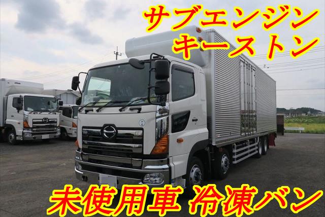 【164】新古車 日野プロフィア 低床 冷凍バン 委託販売