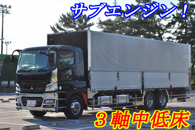 【171】三菱ふそうスーパーグレート 中低床 冷凍ウイング