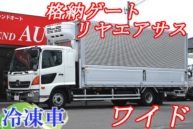 【279】日野レンジャー ワイド 冷凍ウイング 格納ゲート付 リヤエアサス