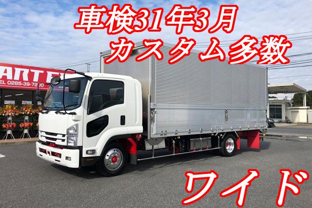 【293】いすゞフォワード フルワイド アルミウイング