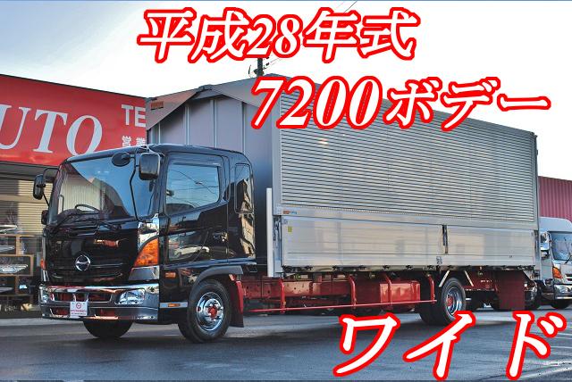 【313】日野レンジャー ワイド アルミウイング 7200ボデー