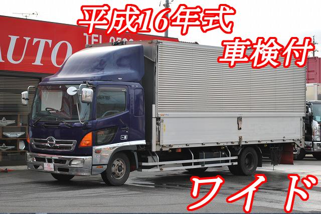 【335】日野レンジャー ワイド アルミウイング 6200ボデー