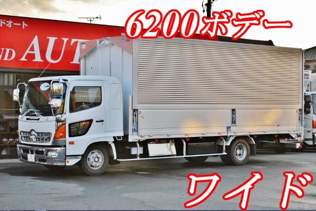 【338】日野 レンジャープロ ワイド アルミウイング 6200ボデー