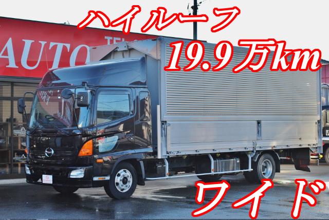 【339】日野レンジャープロ ワイド アルミウイング ハイルーフ